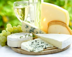 White wine, Rosé and Cheese Pairing